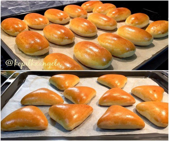 Самый любимый рецепт дрожжевого теста для печёных пирожков, пирогов, булочек и т.п.