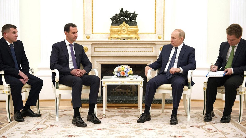 Российско-сирийский диалог: что Владимир Путин и Башар Асад обсудили в Москве Весь мир