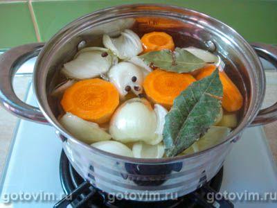 Немецкий картофельный суп, Шаг 03