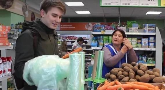 """""""А давай, ты сейчас эти пакетики обратно соберешь?"""" - загадочно предложил пареньку мужчина Пятерочка, Пранк, Молодежь, Длиннопост, Яндекс Дзен"""