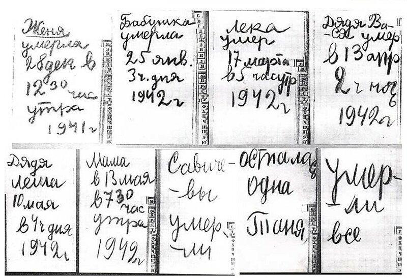 Завещание Тани Савичевой Таня Савичева, день в истории, чтобы помнили