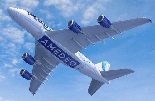 Amedeo решил создать авиакомпанию для эксплуатации лайнеров A-380