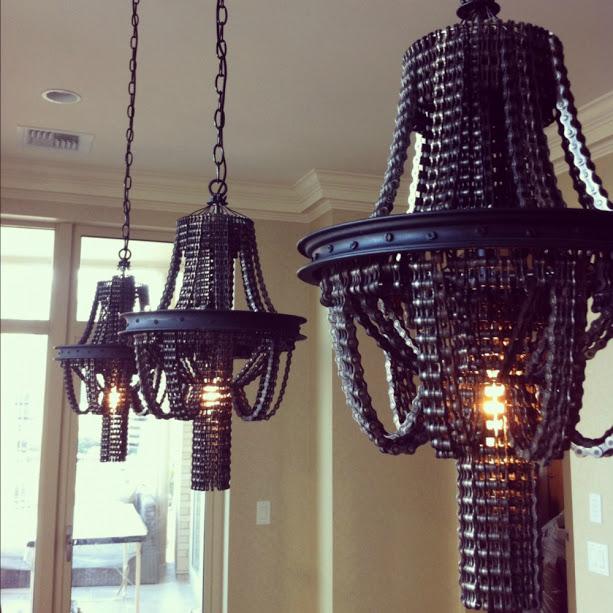 Викторианские люстры для панков