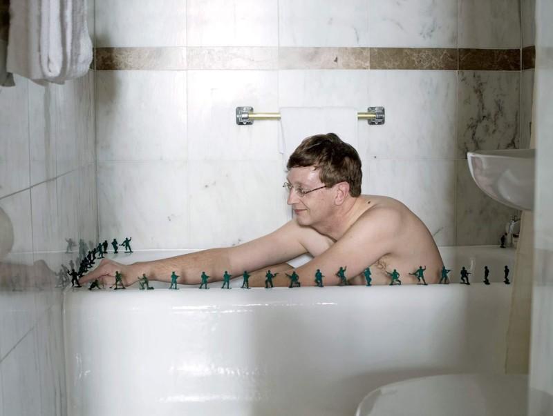 Прикольные картинки с мужчинами в ванне, кофе молоком