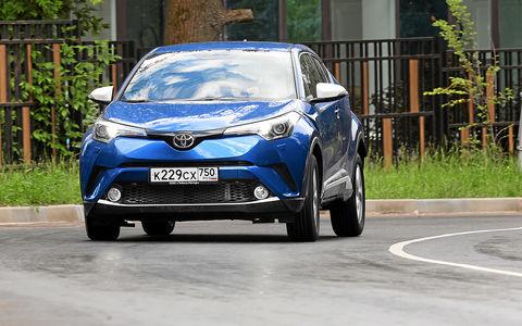 Toyota C-HR: 5 впечатляющих фактов и ряд досадных недочетов