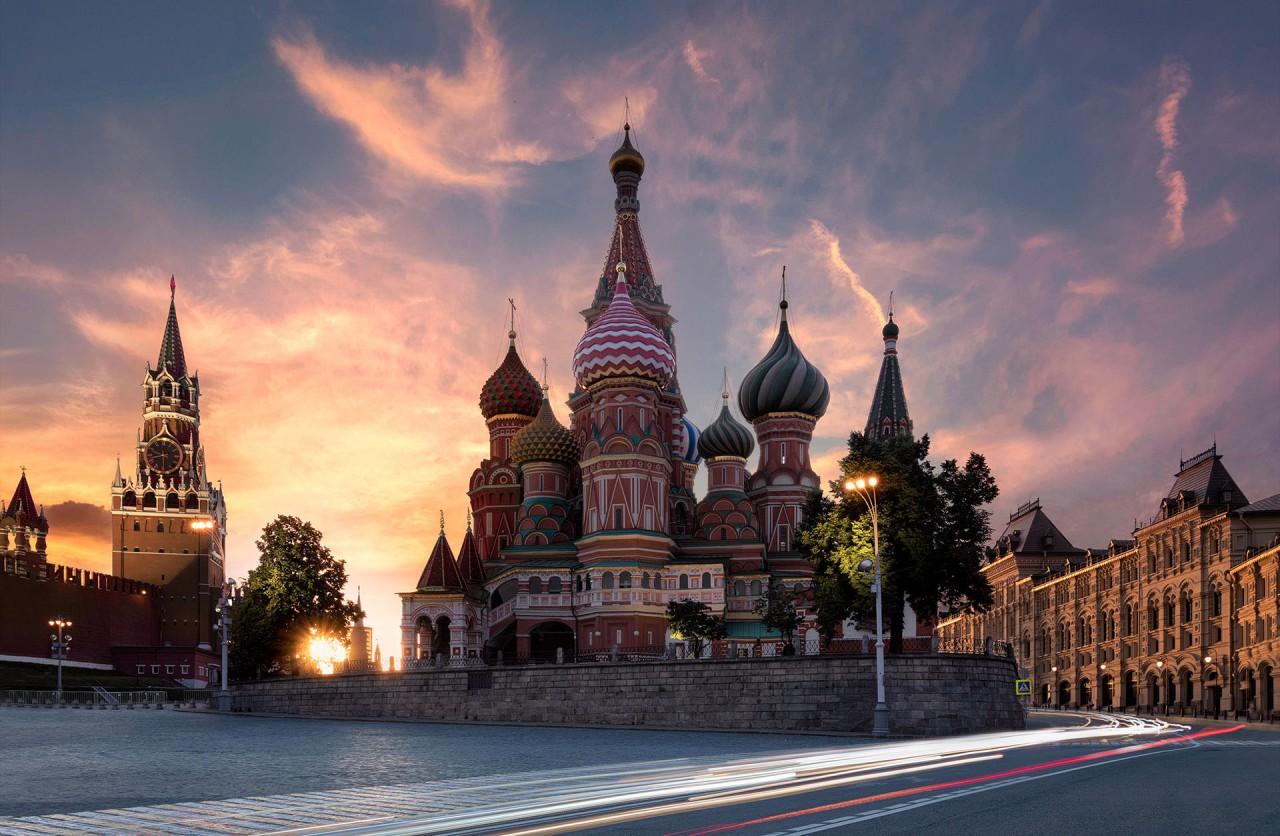 Москва в объективе Вадима Щербакова Россия