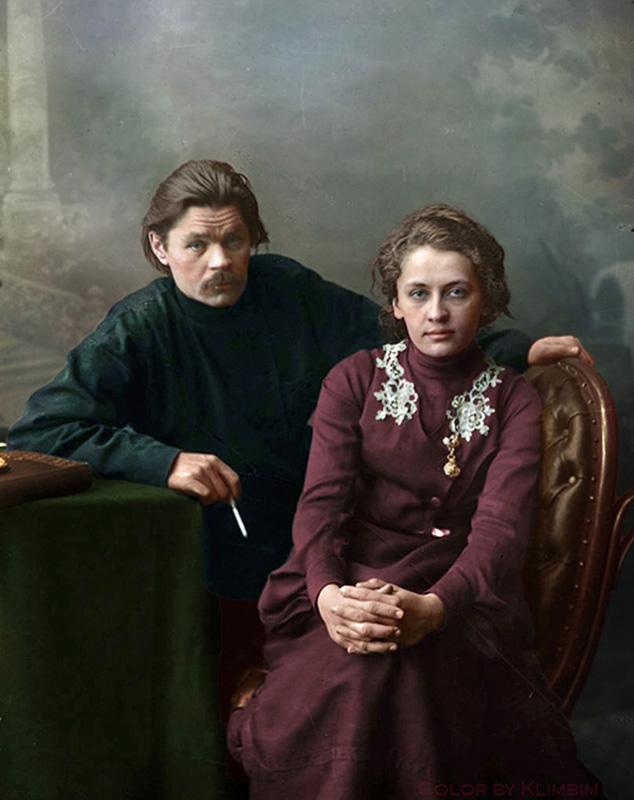 Фотографии русских писателей и поэтов в цвете