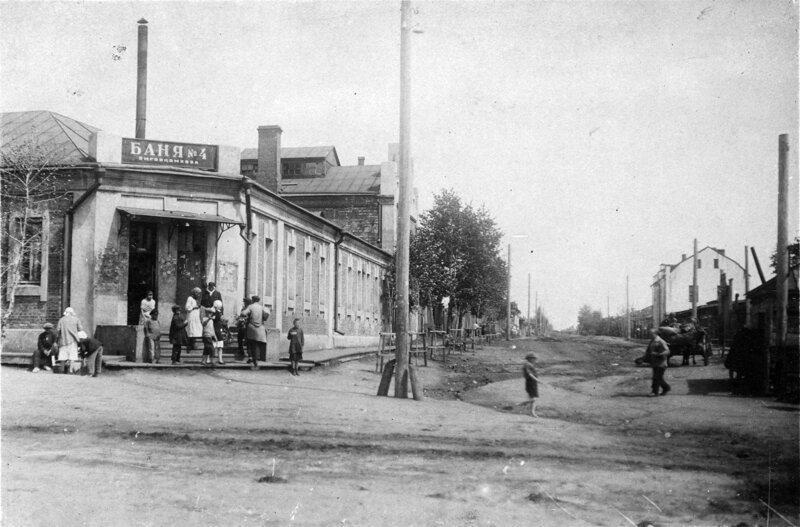 1928. Баня №4 Омгоркомхоза история, ретро, фото