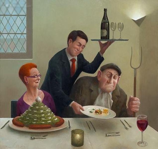 Когда старость в радость: оптимистичные работы голландского художника Marius van Dokkum, фото № 6
