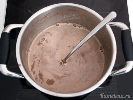 Шоколадное бланманже (постное) — 6 шаг