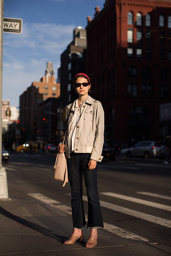 On the Street…End of Day, New York