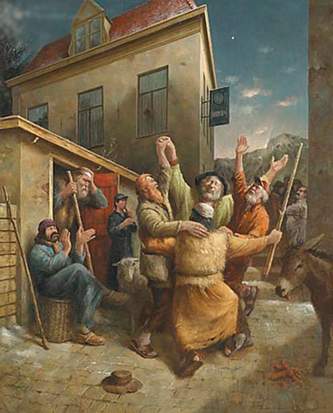 Когда старость в радость: оптимистичные работы голландского художника Marius van Dokkum, фото № 12