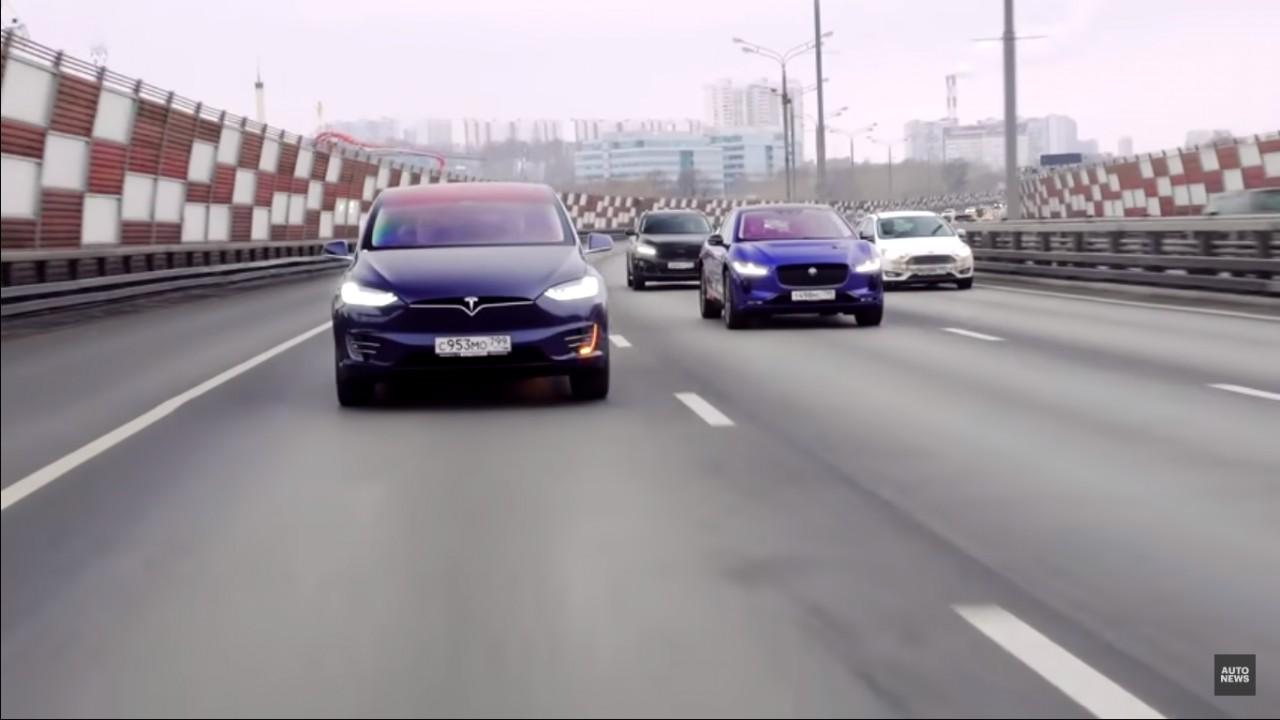 Илон Маск, шутки кончились! Jaguar I-Pace