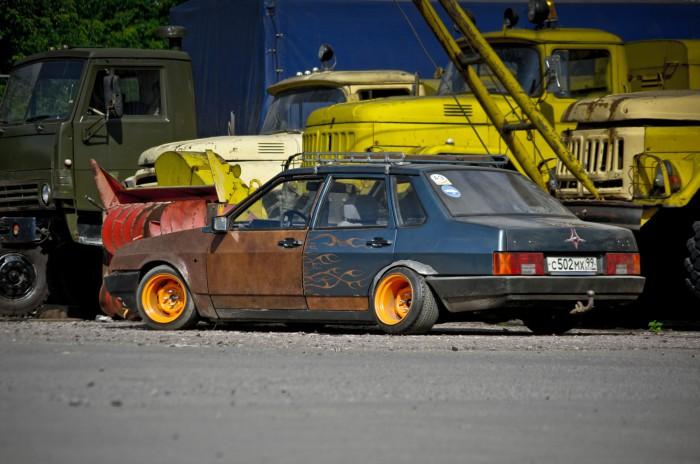 Хот-роды в России: стильное будущее старых машин автомобили,невероятное на дорогах