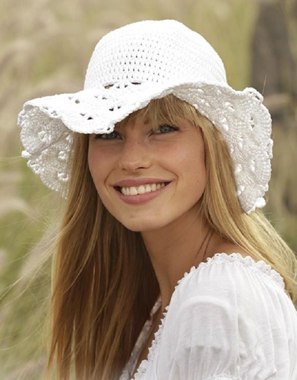 Летние шляпки для женщин крючком