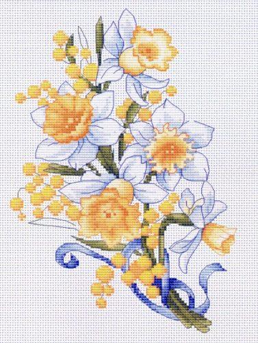 Вышивка Нарциссы (Luca-S)