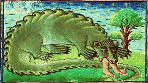По следам легендарных чудовищ. Загадочный северорусский лютый зверь Крокодил загадки