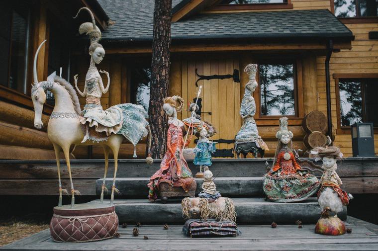 Семейный талант скульптора Даши Намдакова