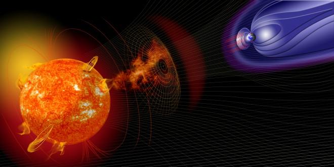 Что случится, когда полюса Земли поменяются местами земля,магнитное поле,наука,полюса,Пространство