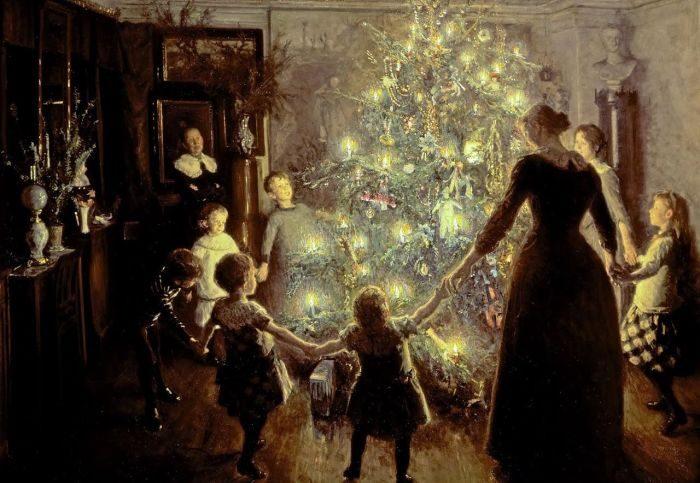 История главного новогоднего дерева
