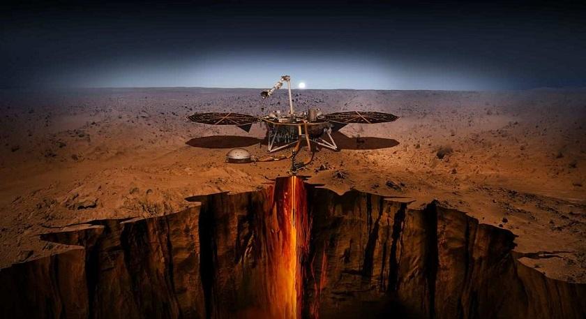 Жизнь может находиться под поверхностью Марса