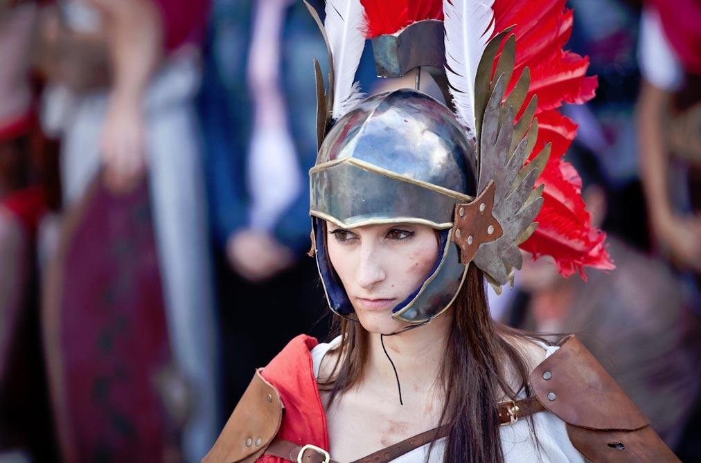 10 самых интересных фактов о женщинах гладиаторах