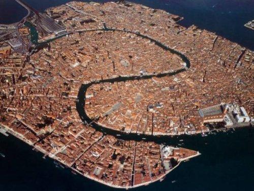 Венеция с высоты птичьего полета. интересное, интересные снимки, снимки