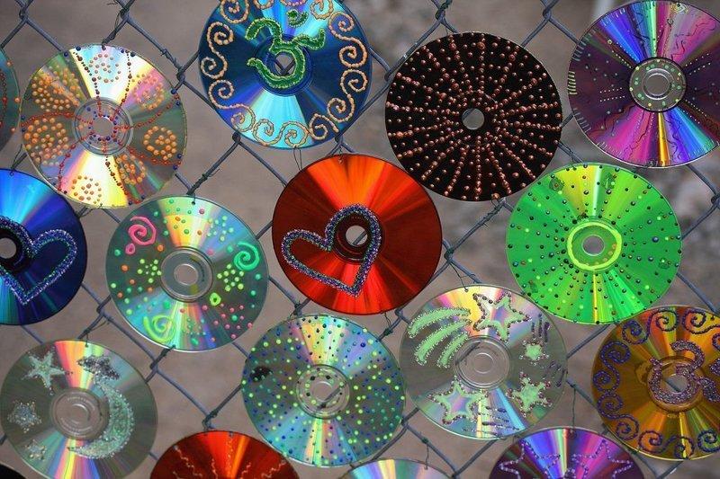 меня, цветы из дисков картинки судя количеству людей