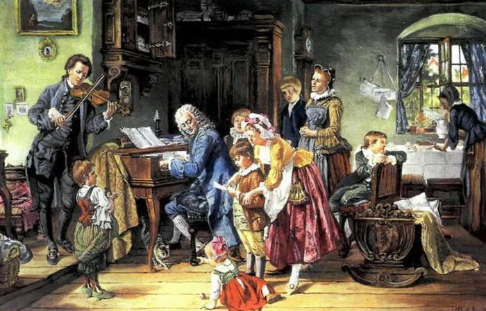 Иоганн Себастьян Бах - гениальный музыкант и отец 20 детей!
