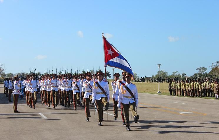 Куба отметила столетие создания Красной армии артиллерийским салютом