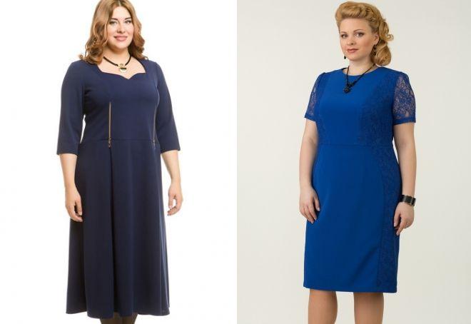 платье для полной женщины 40 лет