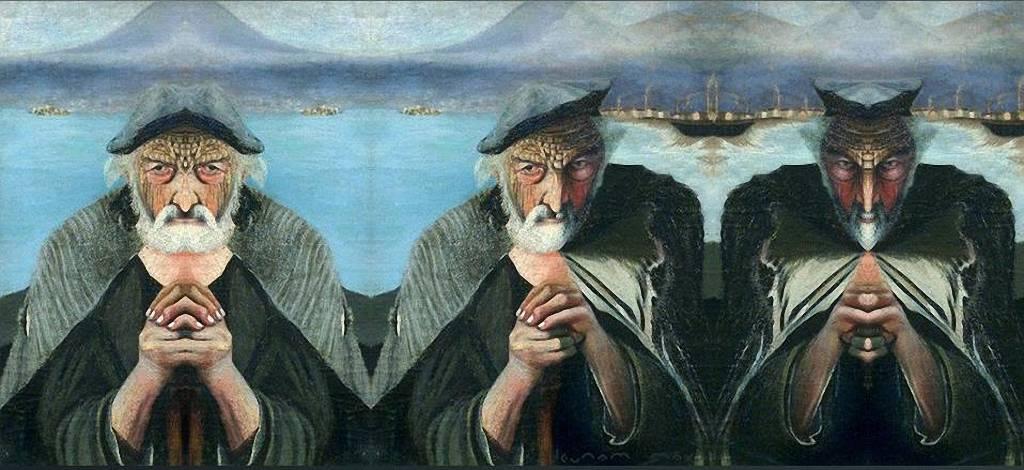 Столетняя загадка картины: «Старый рыбак» Отдых