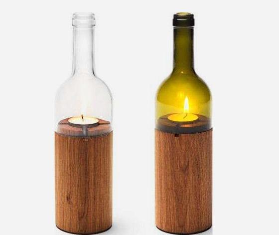 Игра в бутылочку: 40 необычных способов применения стеклянных бутылок в декоре
