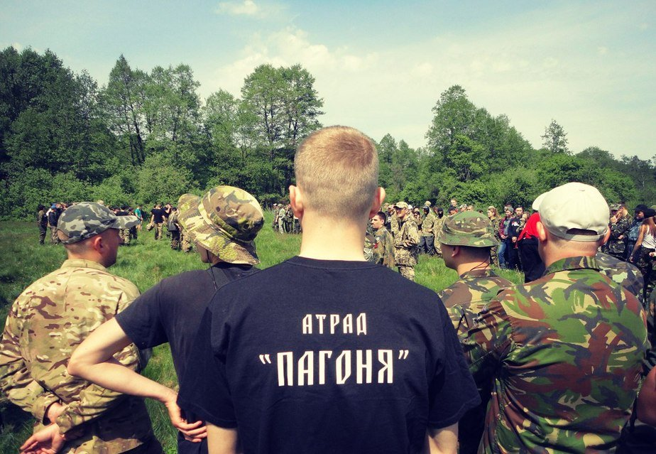 Белорусы вместе с украинцами участвовали в военно-спортивной игре памяти бандеровцев