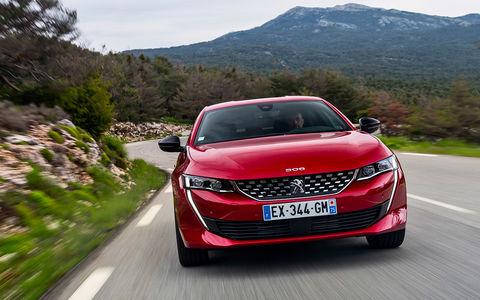 Peugeot 508: тест-драйв в стиле «Такси»