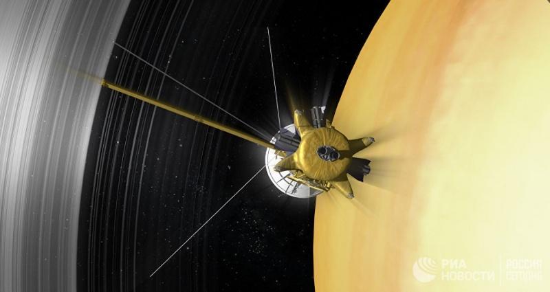 """Финал оперы """"Кассини"""": зачем НАСА через неделю """"убьет"""" зонд-ветеран"""