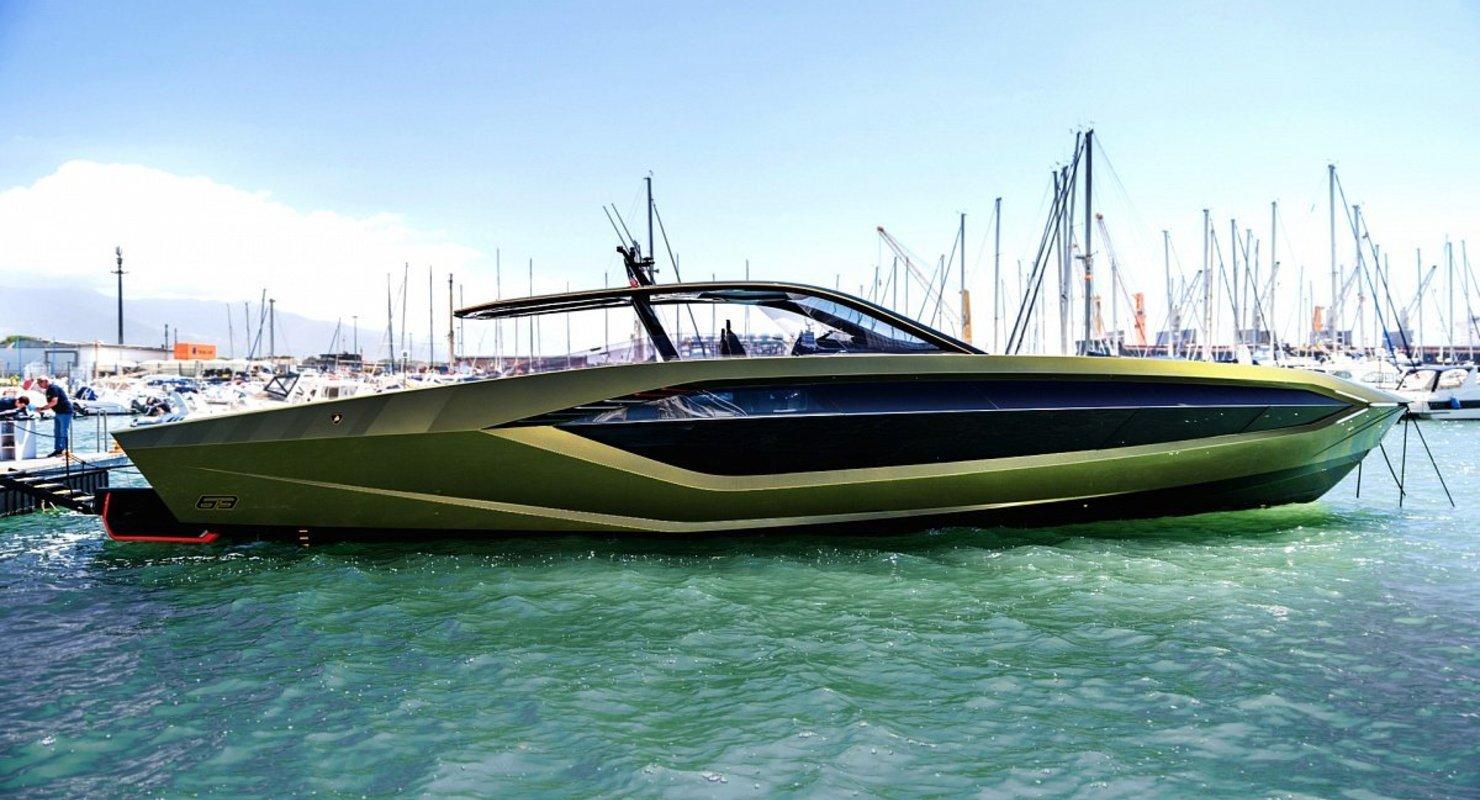 Lamborghini выпустила свою первую яхту Tecnomar: экземпляр уже доставлен владельцу Автомобили