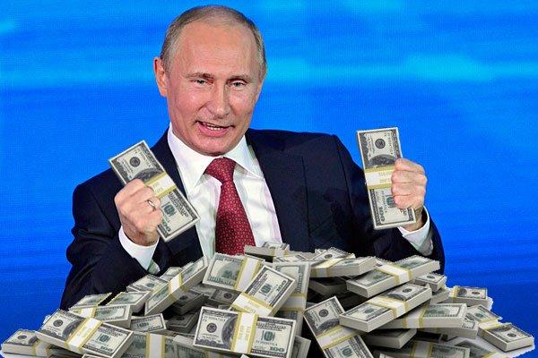 Запад нашел «путинские 120 миллиардов долларов». Но не может их отобрать