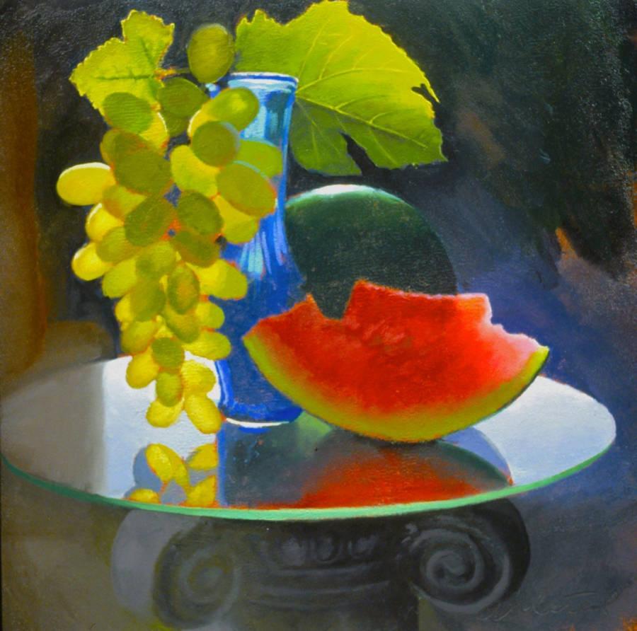 Формы и ритм цветовых сочетаний. Американский художник Дэвид Алстед