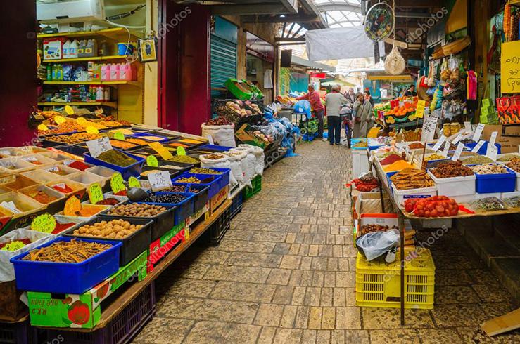 Рынок города Акко