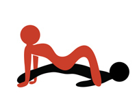 Сексуальные позы для похудения женщинам