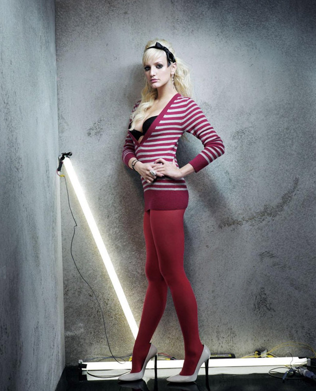 Эшли Симпсон(Ashlee Simpson) в фотосессии Энтони Мэндлера(Anthony Mandler) для журнала Blender (декабрь 2006)