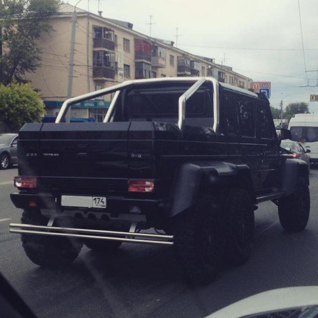 """Седьмой автомобиль, цвета """"Черный обсидиан"""" находится в Челябинске. 6x6, amg, g63, gelandewagen, mercedes-benz"""