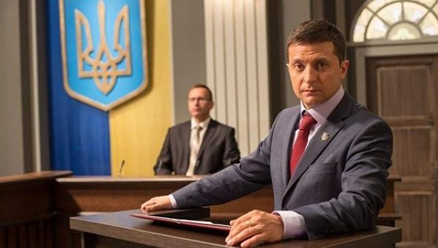 Клоуна выдвинули в президенты Украины