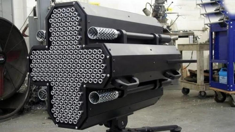 Пулемет «Metal Storm» способен осуществлять более полутора миллионов выстрелов в минуту