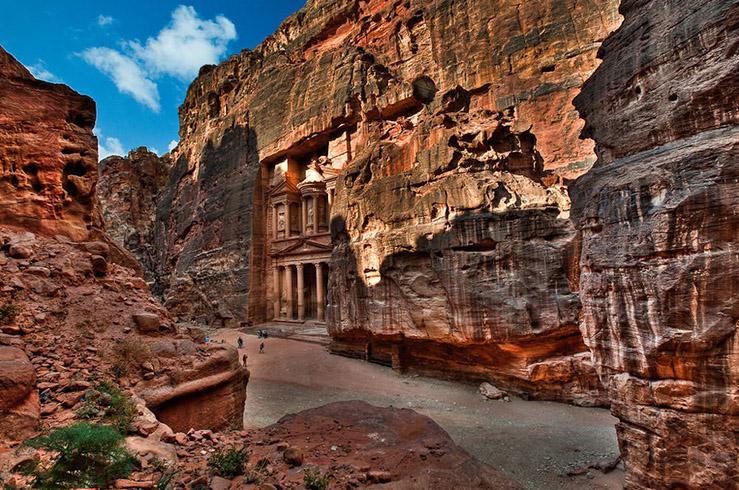 Петра. Храм-мавзолей Эль Хазне