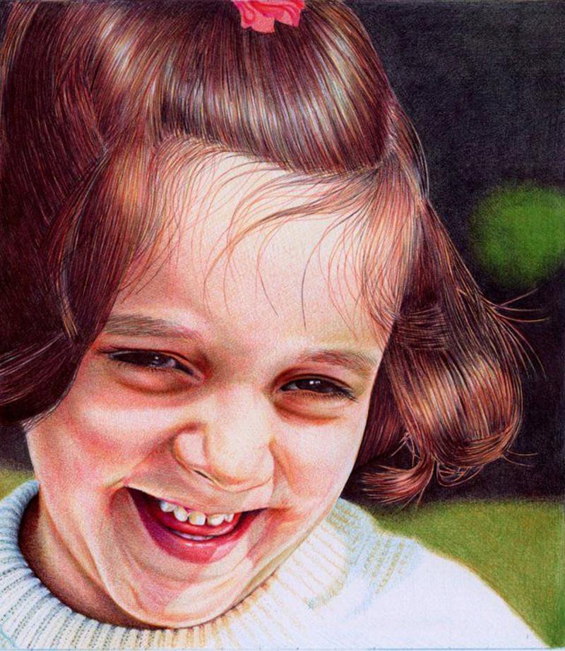 Восхитительные рисунки шариковой ручкой от Samuel Silva интересное