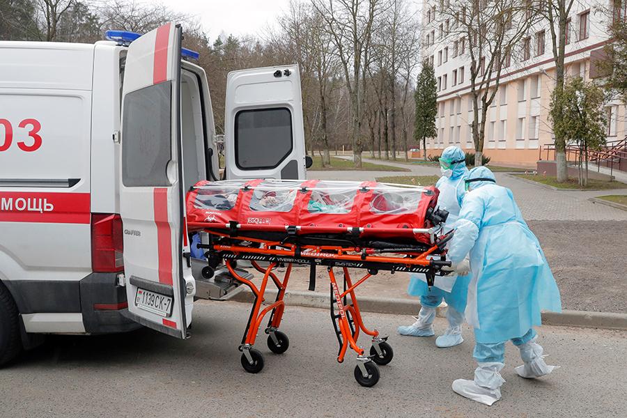 В Москве умер вернувшийся из Италии россиянин