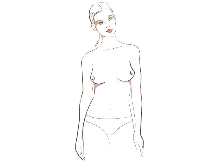 типы форм женской груди