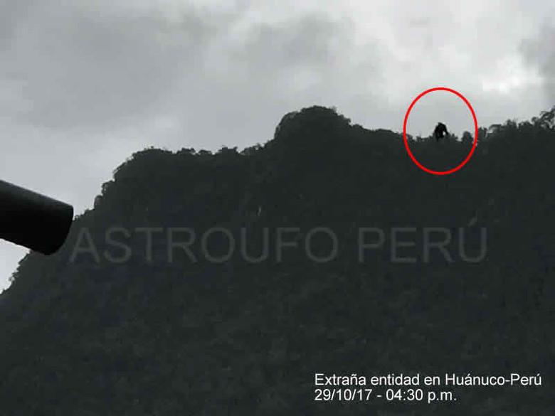 Житель Перу заснял взлетающе…